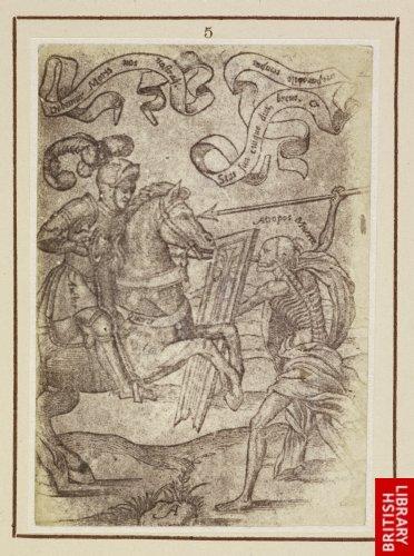 Juan Bautista de Toledo:  Death and the cavalier. (1573.)