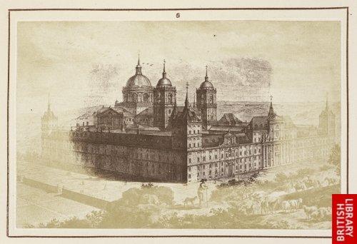 Juan de Herrera:   General view of San Lorenzo del Escorial.