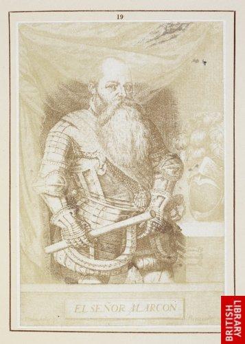 Pedro Perete:  Portrait of Alarcon. (1665.)
