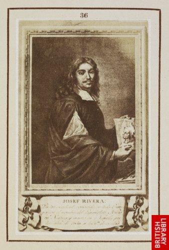Josef de Ribera:  His portrait. (1790.)