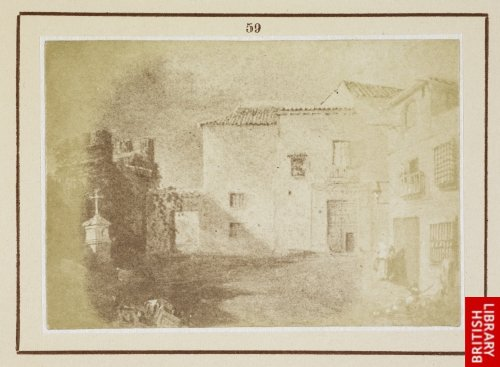 The house of Murillo at Seville. (From a drawing by Richard Ford, 1831.)