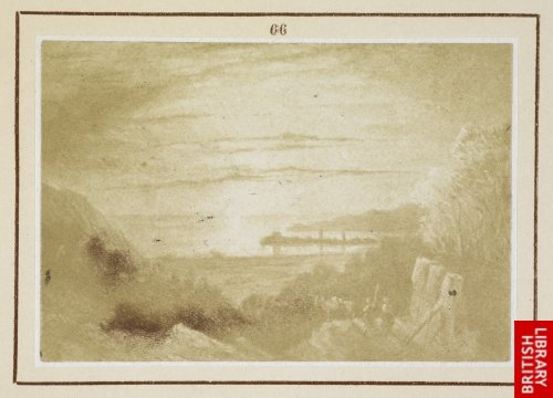 View of Gijon, the birth-place of Don Juan Agustin Cean Bermudez. (From a sketch by Richard Ford, 1832.)
