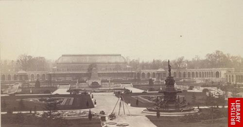 General view of the garden, from the Exhibition Building.   (opp. p. 109)