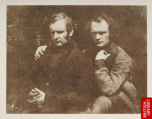 Thomas Duncan R.S.A. and his brother James.