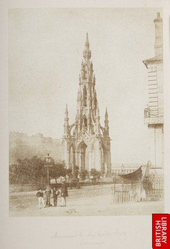 The Scott Monument Edinburgh.