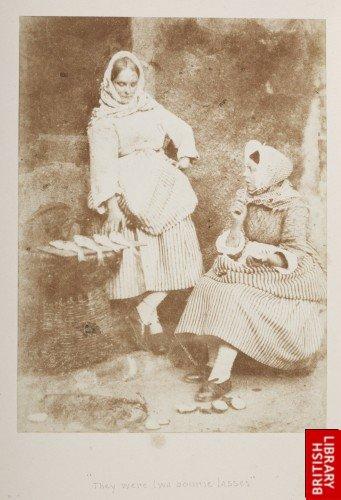 Joanie Wilson & Annie Linton Newhaven fisherwomen.
