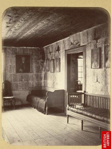 Hammarby. Linn�us' study.