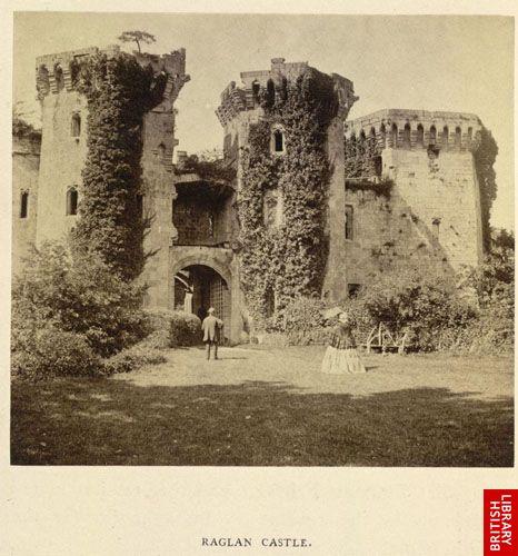 Raglan Castle.