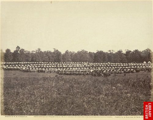 Wagon park.  (Brandy Station, 1863.)