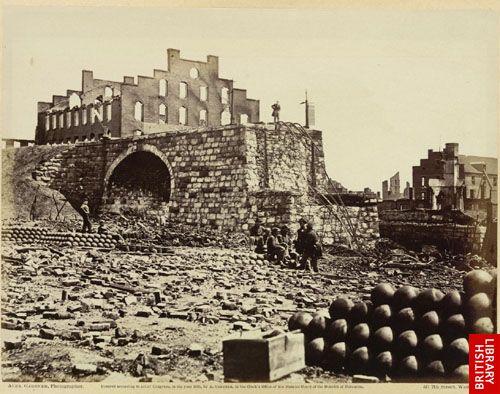 Ruins of Arsenal, Richmond, Va.  (April, 1865.)