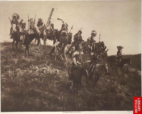 Ogalala war-party.