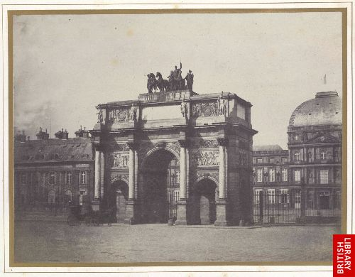 Arc de Triomphe du Carrousel, � Paris.