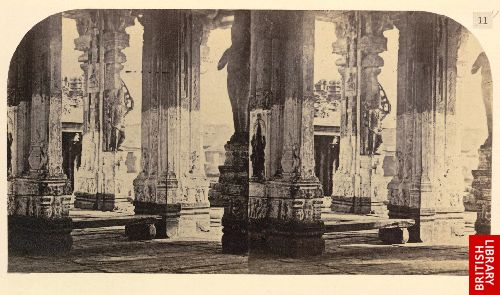 View across the nave in the Poodoo Mundabam [Madura].