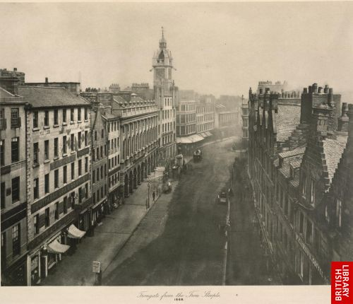 Trongate from Iron Steeple (1868).