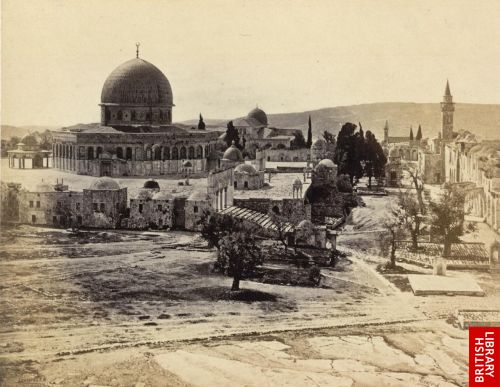 Jerusalem. - The Mosk of the Dome of the Rock, from the Governor's House.