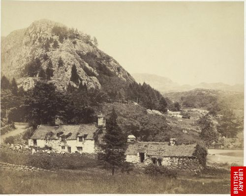Cottages at Aberglaslyn.