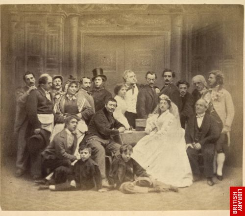 The streets of London.  [A group representing a cross section of its inhabitants.]