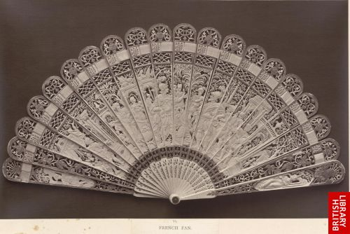 French fan. Louis XVI.
