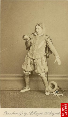 Mr. J. B. Buckstone.   [As Sir Andrew Aguecheek, in