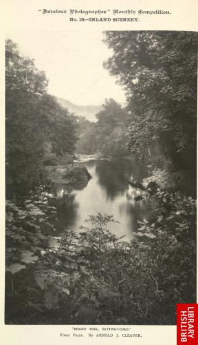 Beaver Pool, Bettws-y-Coed.   [Frontispiece (no. 23)]
