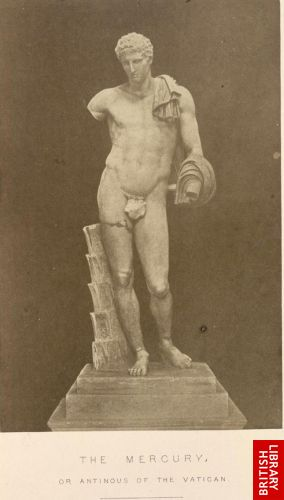 The Mercury, or Antinous of the Vatican.