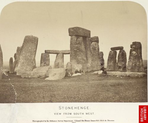 Stonehenge. View from south west.