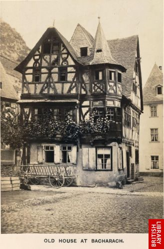 Old house at Bacharach.