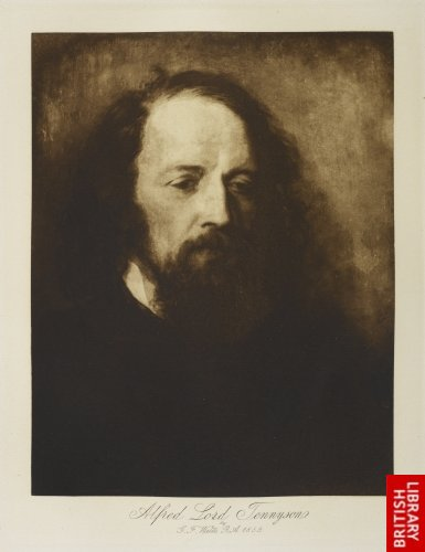 Alfred, Lord Tennyson, 1859. By G. F. Watts, R.A.