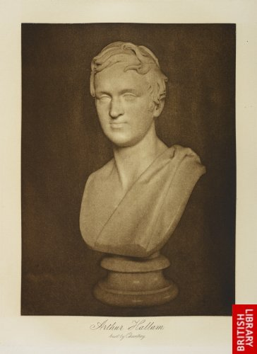 Arthur Hallam. Bust by Chantrey.