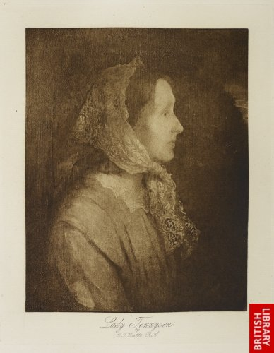 Lady Tennyson. By G. F. Watts, R.A..
