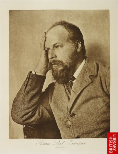 Hallam, Lord Tennyson from life.