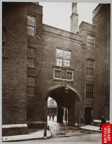 Lincoln's Inn - Gate House. 1876.
