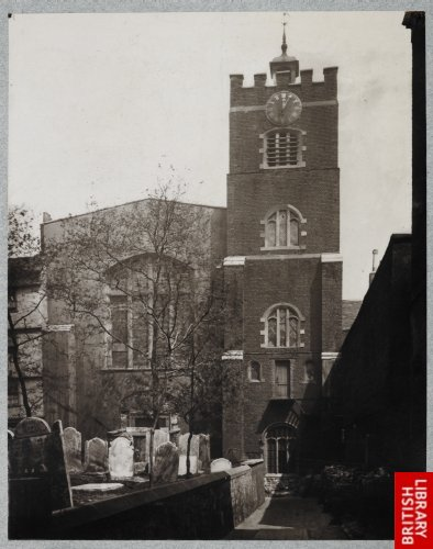 [St. Bartholomew's the Great.] 1877.