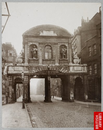 Temple Bar. 1878.