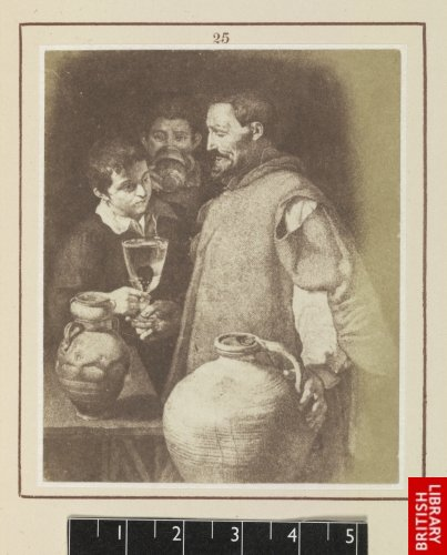 Diego Velasquez:  The water-seller of Seville. (From the engraving by Blas Amettler.)