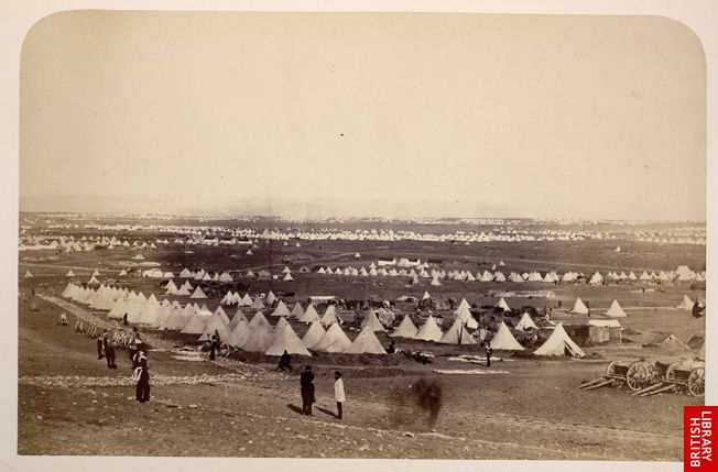Camp at Sebastopol.