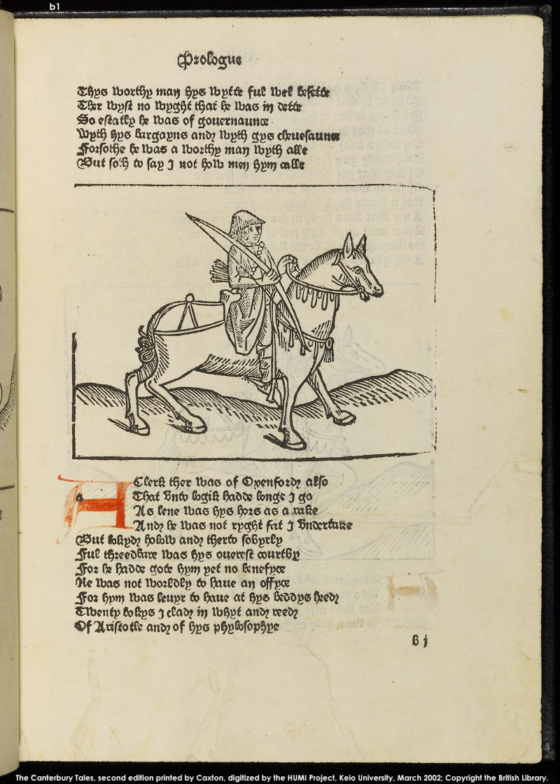 Streamline Training & Documentation: The Clerk in the Canterbury Tales