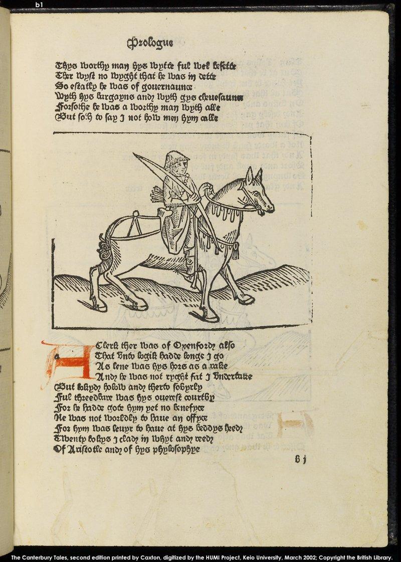 the clerk canterbury tales