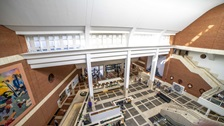 Entrance Hall of the British Library