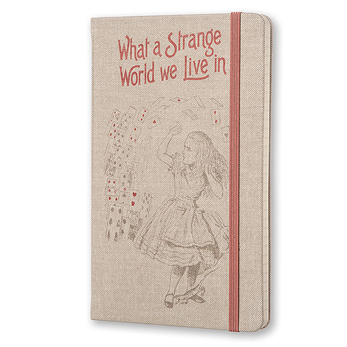 What A Strange World We Live In Moleskine from the British Library Shop