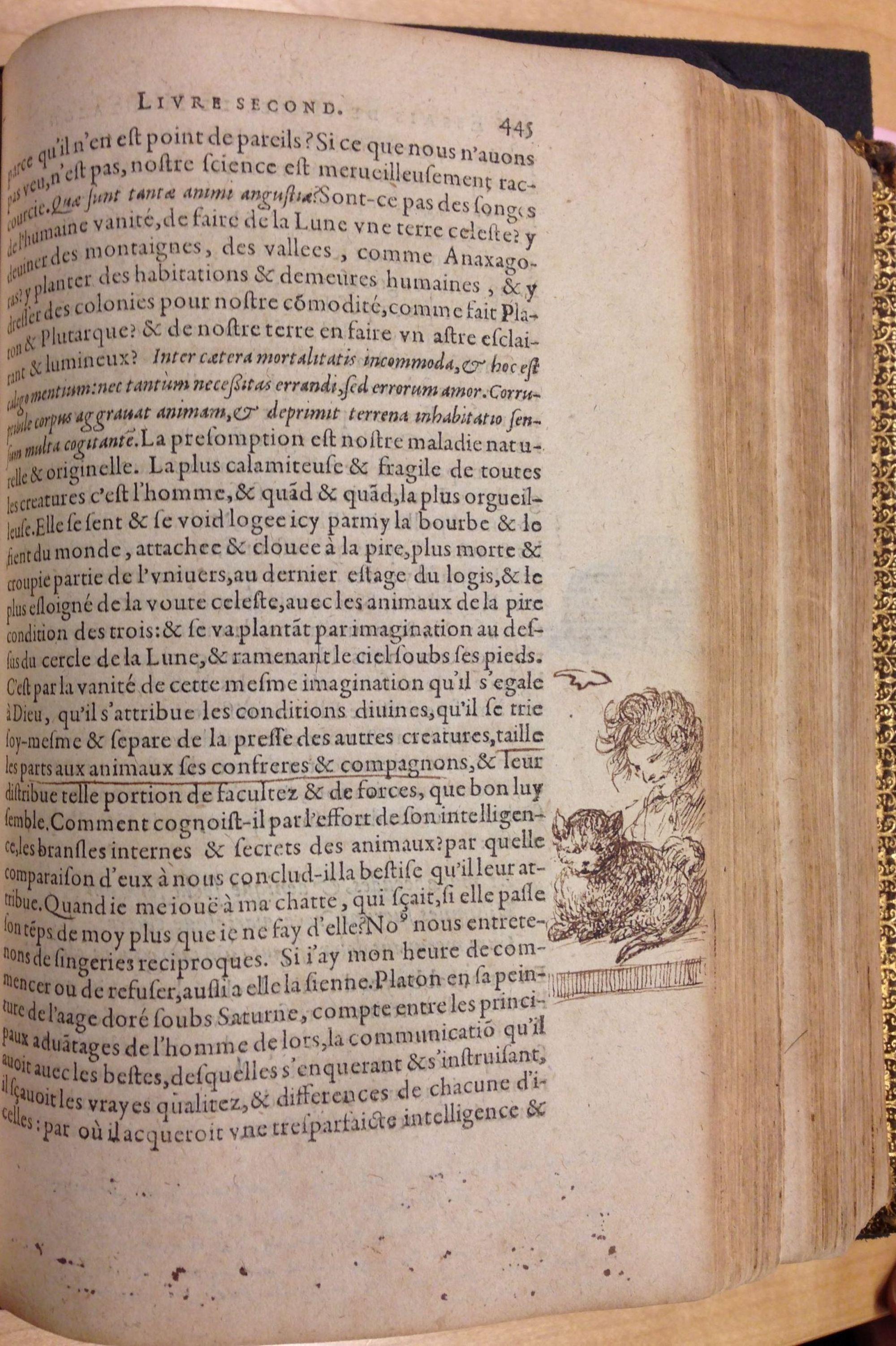 Michel De Montaignes Hugely Influential Essays  The British Library Illustration From Les Essais De Michel Seigneur De Montaigne