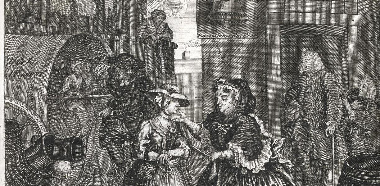 Image from 'A harlot's progress'