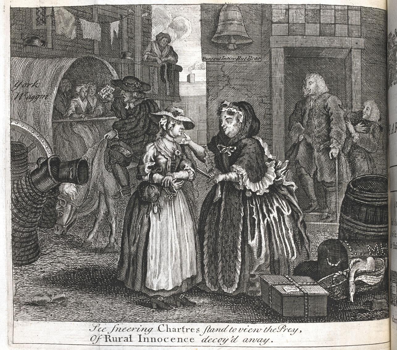 A Harlot's Progress, William Hogarth, 1732