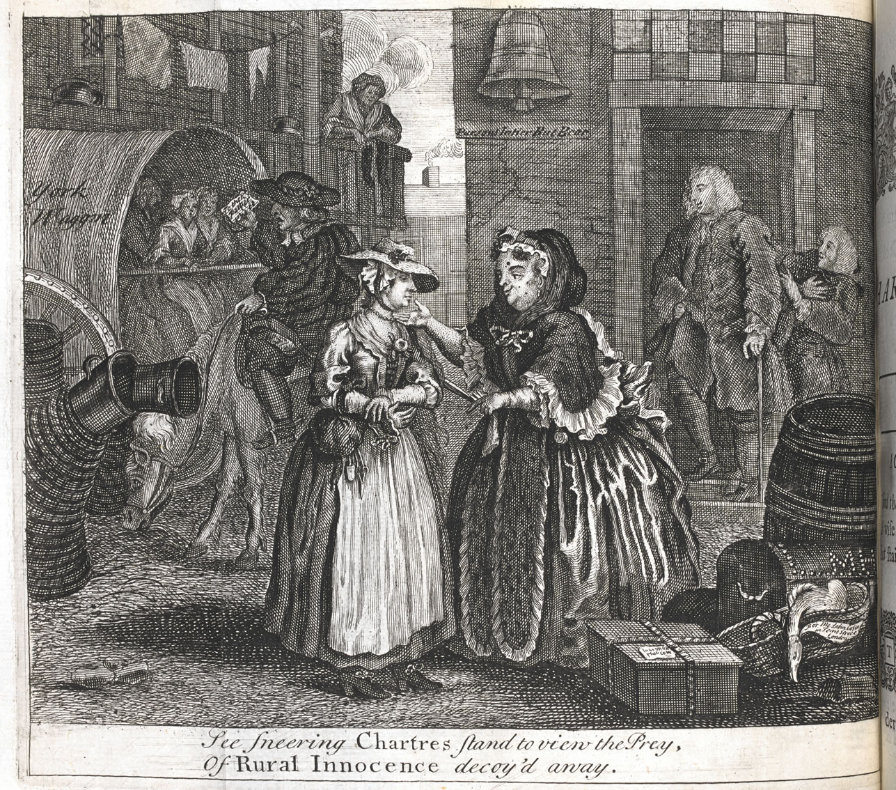 A Harlot's Progress, William Hogarth, 1732
