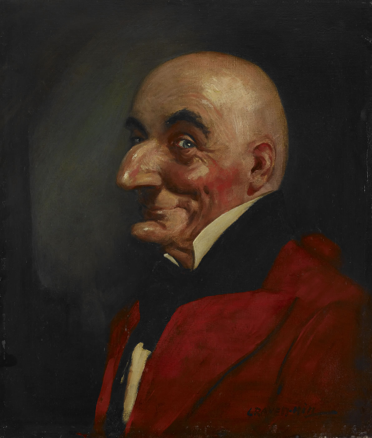 Mr Punch, Leonard Raven-Hill, early 20th century