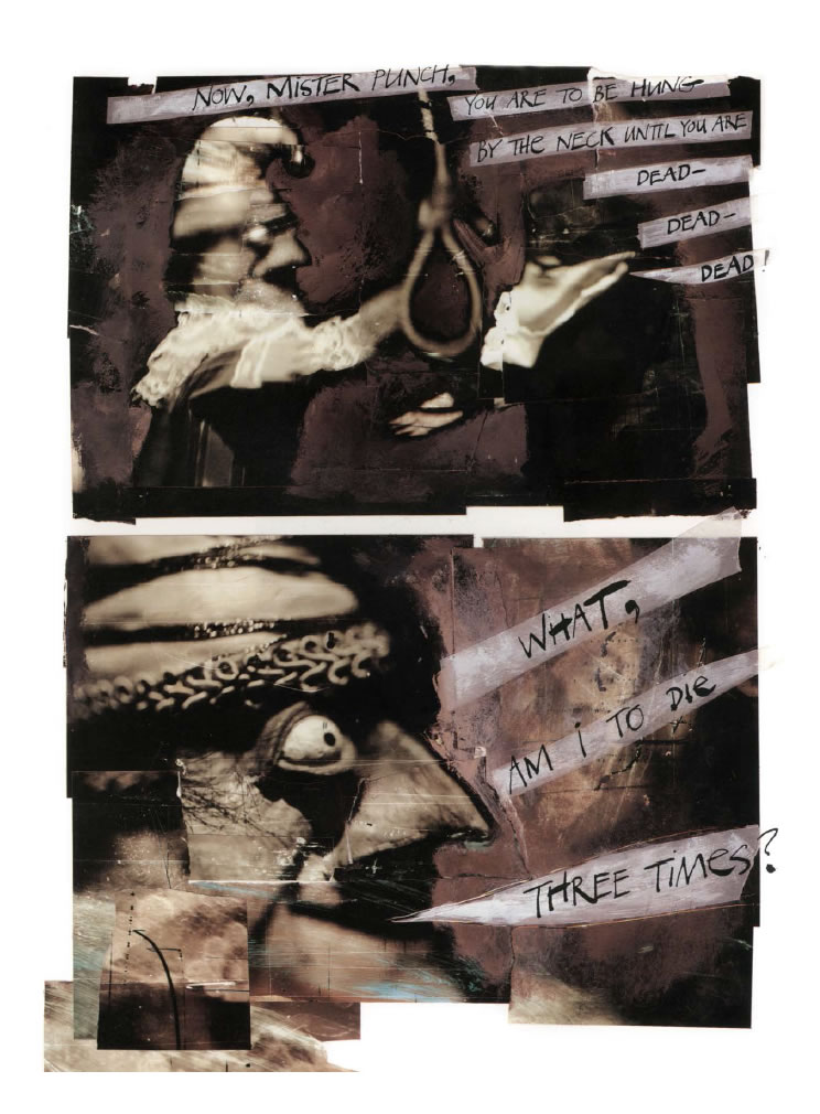 The Tragical History of Mr Punch, (c) Dave McKean