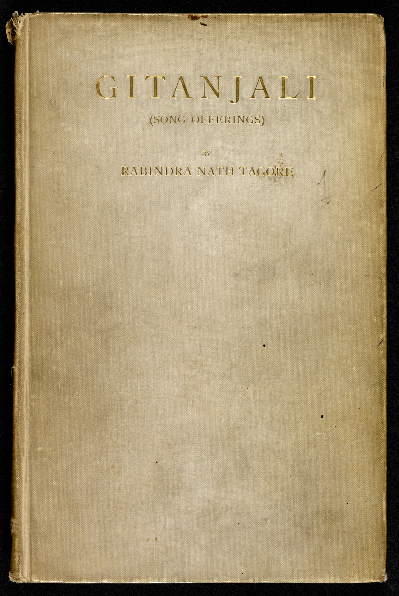 Gitanjali song-offerings, by Rabindranath Tagore