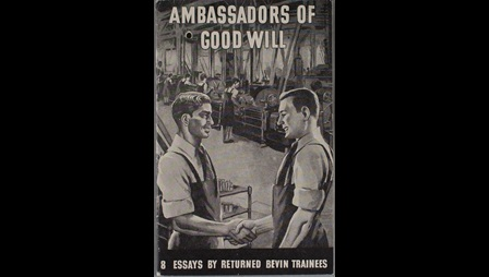 Cover of Ambassadors of Goodwill leaflet