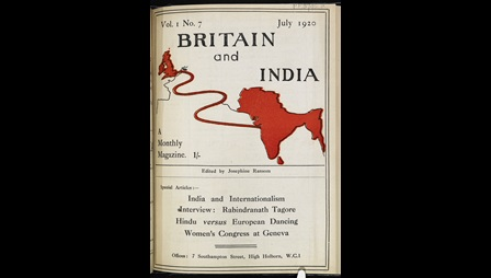 Cover of Britain and  India Magazine