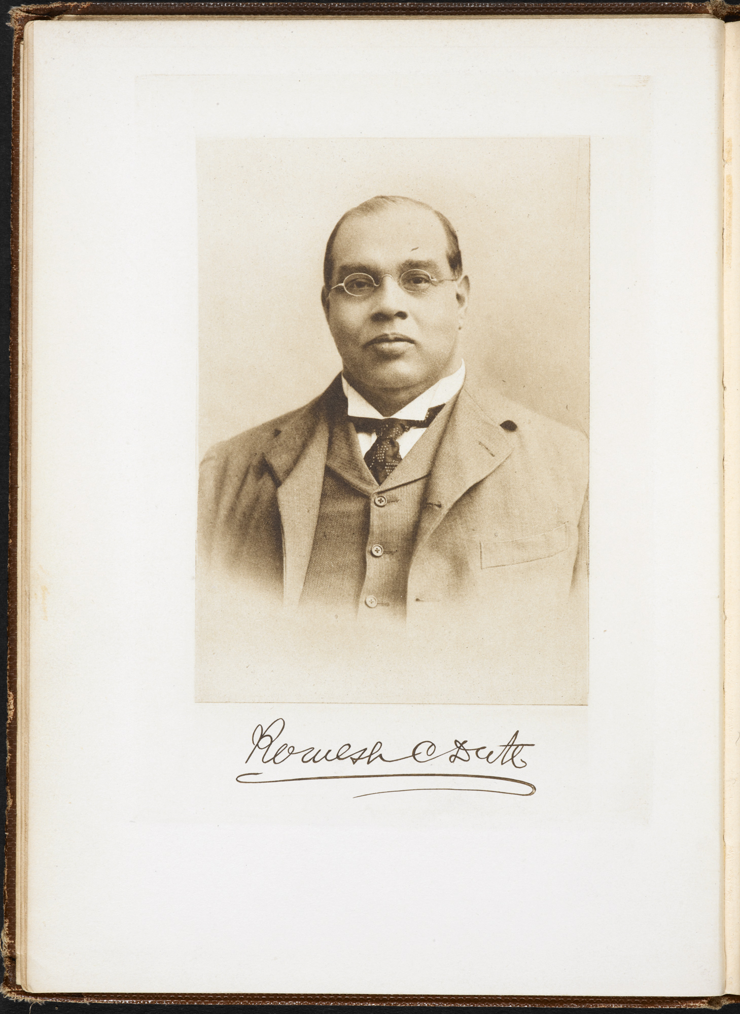 Photograph of Romesh Chunder Dutt